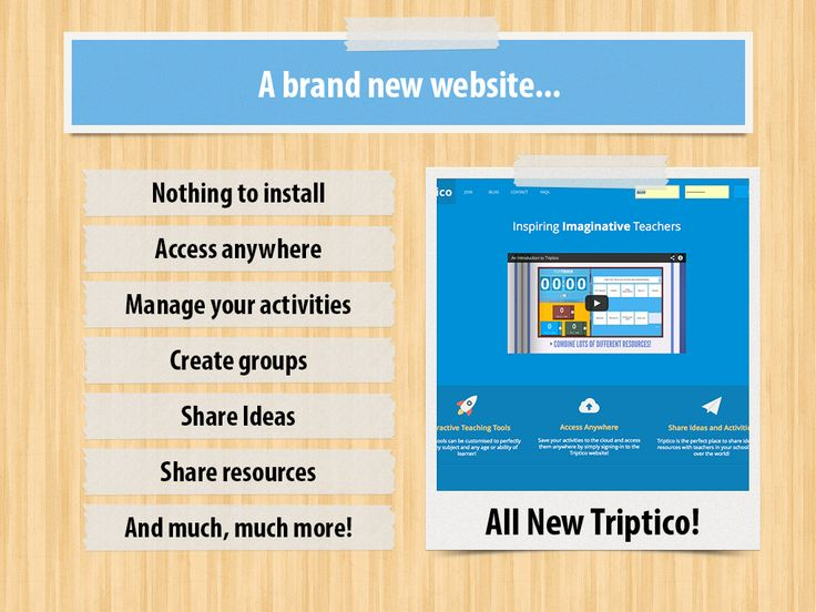 Triptico - A suite of versatile and useful teacher tools which work really well with interactive boards of any brand. There are a number of free options such as timers, group selectors, random name selectors, spinners and order sorters as well as other tools and features which require a small payment.