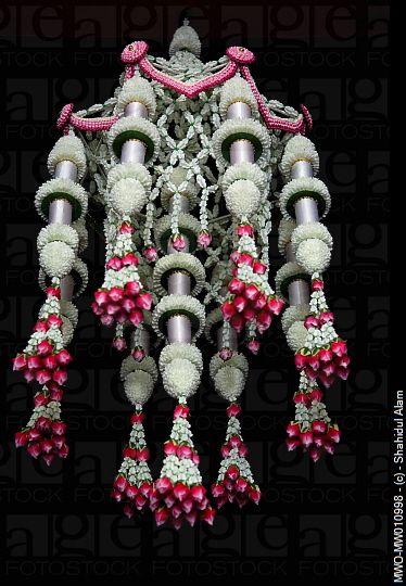 Thai floral decor