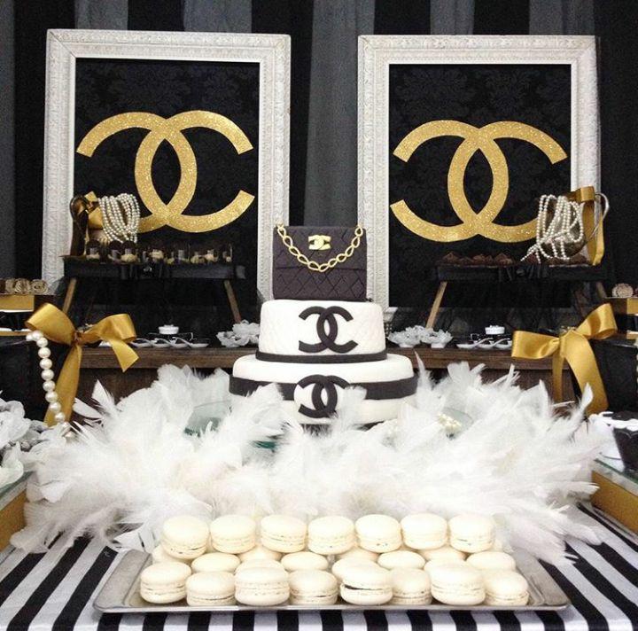 Chá de Lingerie da Mayra - Tema Chanel
