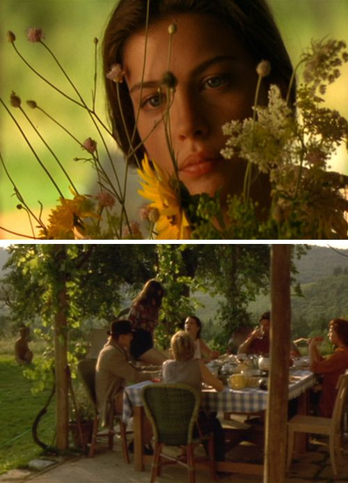 Stealing Beauty movie stills via Design*Sponge. My friend and I listened to the soundtrack on repeat for the whole summer after we finished high school. The movie scenery was pretty fantastic too.
