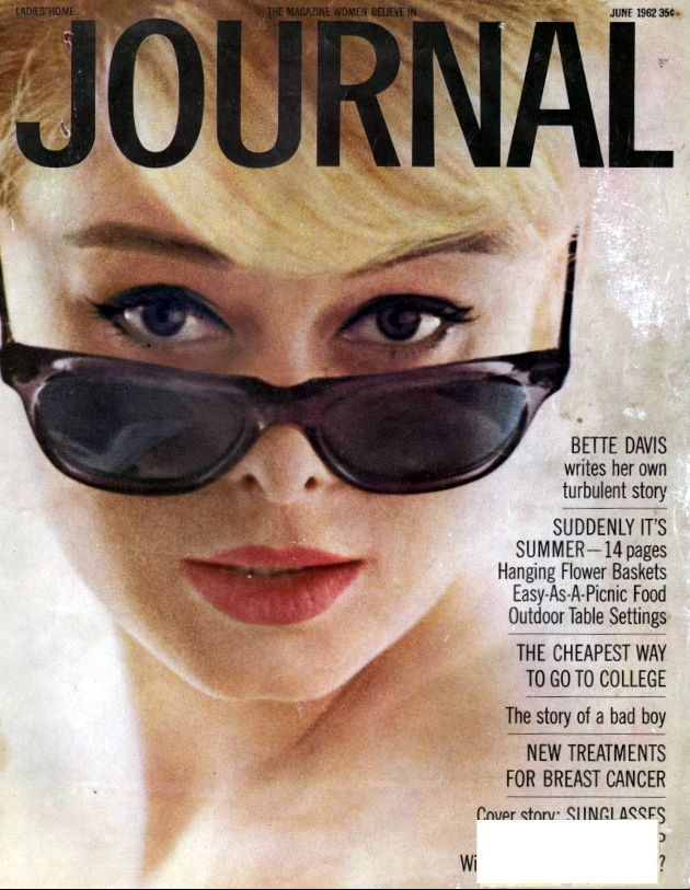 Ladies home journal magazine 1950s hairstyles.
