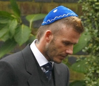 David Beckham at grandfather's Funeral | Jewish Manly Men ...