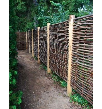 Great beginnings for an outdoor space with backlighting. - Contemporary fencing by Detroit Garden Works
