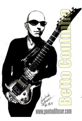 Joe Satriani - pincel e nanquim