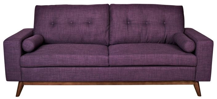 The Brighton Sofa - Purple from Urban Barn is a unique home decor item. Urban Barn carries a variety of View All Sale and other  products furnishings.