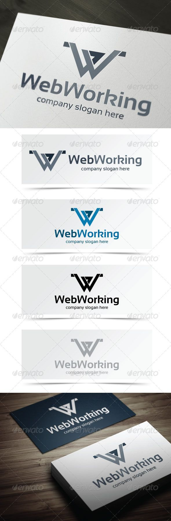 Web Working 66 best Logo Templates images