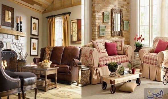 الطراز الانجليزي يمنحك الفخامة والأناقة في ديكور المنزل Furniture Home Decor Home