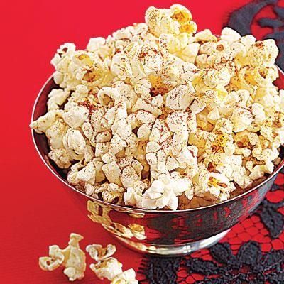 How to throw a vampire-themed Halloween party: Make Spicy Popcorn (a tasty, super-cheap party snack!)