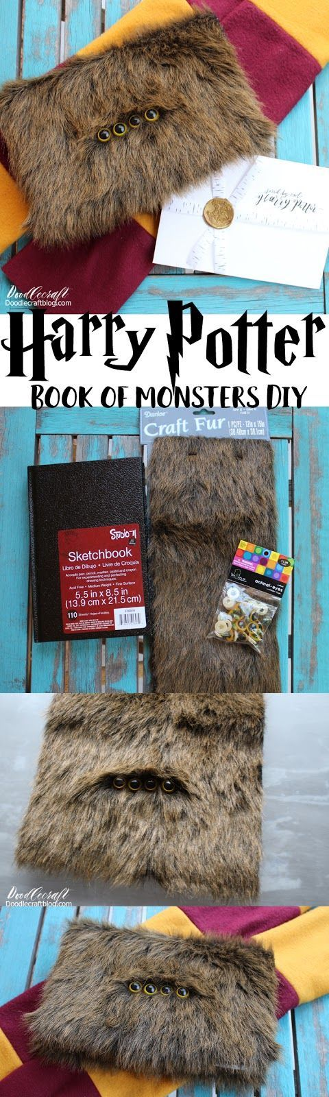Harry Potter Monster Book of Monsters Book