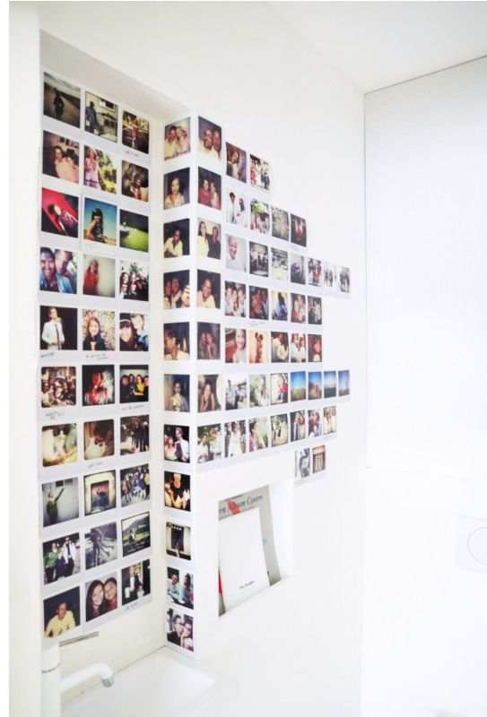 Polaroïd wall