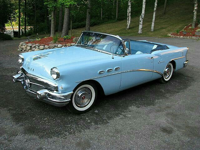 1956 Buick Special Convertible #classiccars1956cadillac
