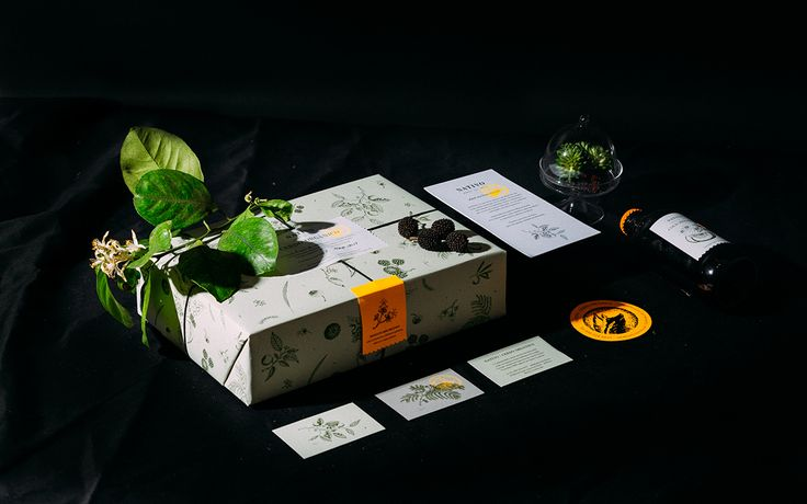 This Cooking Kit Has Beautiful Botanical Illustrations — The Dieline | Packaging & Branding Design & Innovation News