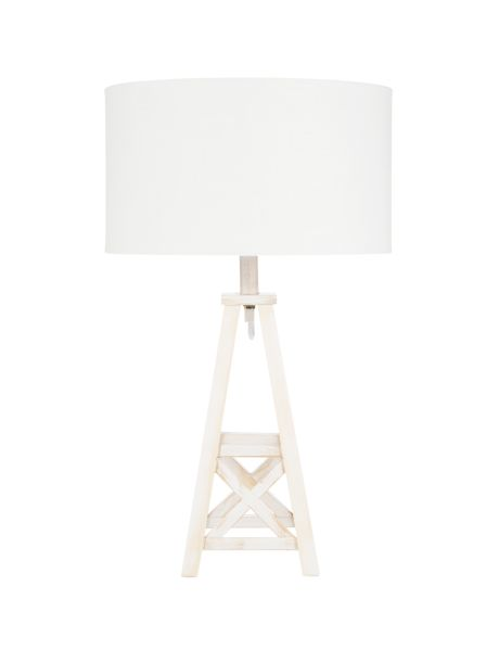 Add a touch of shoreside to your living area with the Pier table lamp.