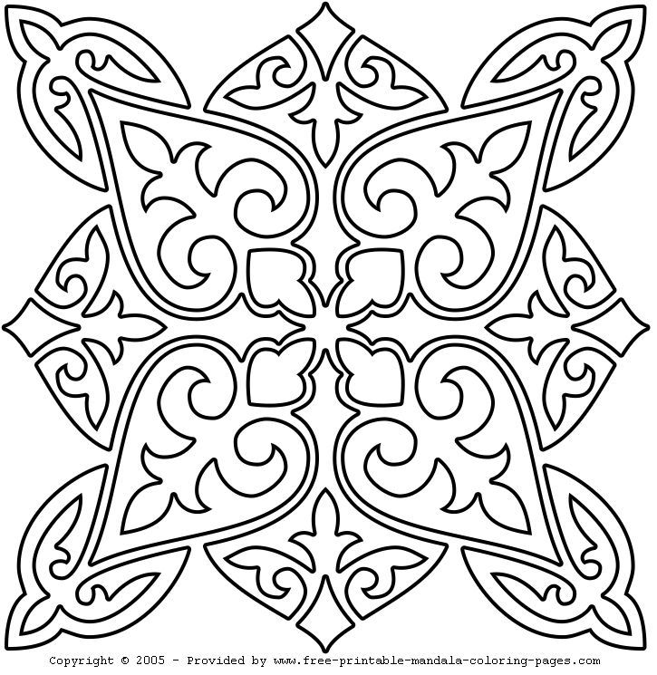 Malvorlagen Mandala Mandala Coloring Pages Mandala Coloring Pattern Art
