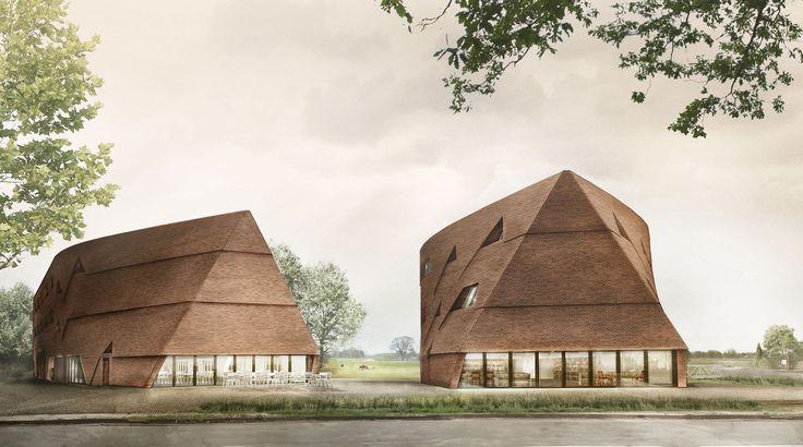 Zwei Langhäuser als Schulbau - Thomas Kröger und Roswag Architekten #meintimeberlin gewinnen in Hamburg