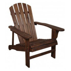 Leigh Country Wooden Adirondack Chair - Add a comfortable and casual addition to any outdoor living space with the Leigh Country Wooden Adirondack Chair . Its classic design is made from...