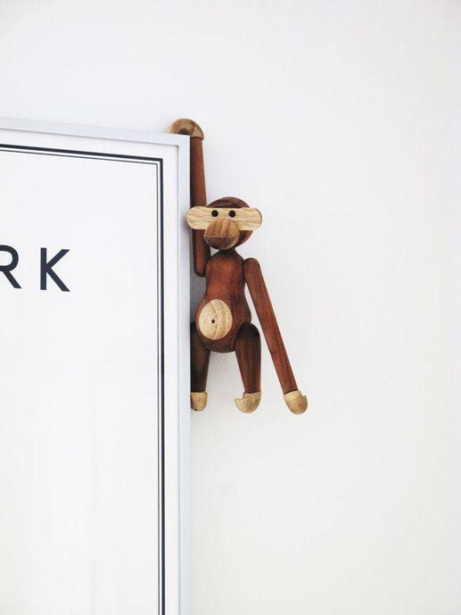 Kay Bojesen teak monkey | via c'est magnifique Monkeys ~ Cityhaüs Design