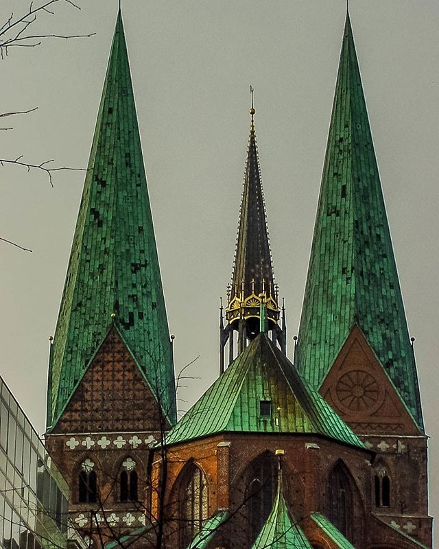 Lubeck Is A Northern German City Distinguished By Brick Gothic Architecture It Was Once The Medieval Capital Of The Han Gothic Architecture Architecture Gothic