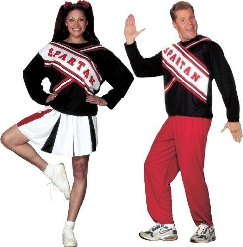 SNL Spartan Cheerleader Halloween Costume Standard