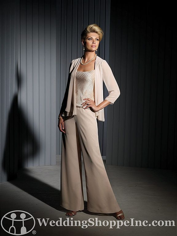 Pant suits mother of the bride and the bride on pinterest