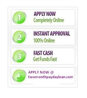 Are you in need of instant cash to win over a personal emergency and also dissatisfied with your bad credit history? In such situation without any additional delays just apply with us for our 2 month loans no credit check that will help to you with a minimum amount of $100 to a maximum of $1500. We give you an open-minded time period of two months to refund the amount with us.