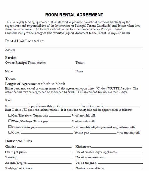 The 25+ best Roomate agreement ideas on Pinterest - rental agreement form