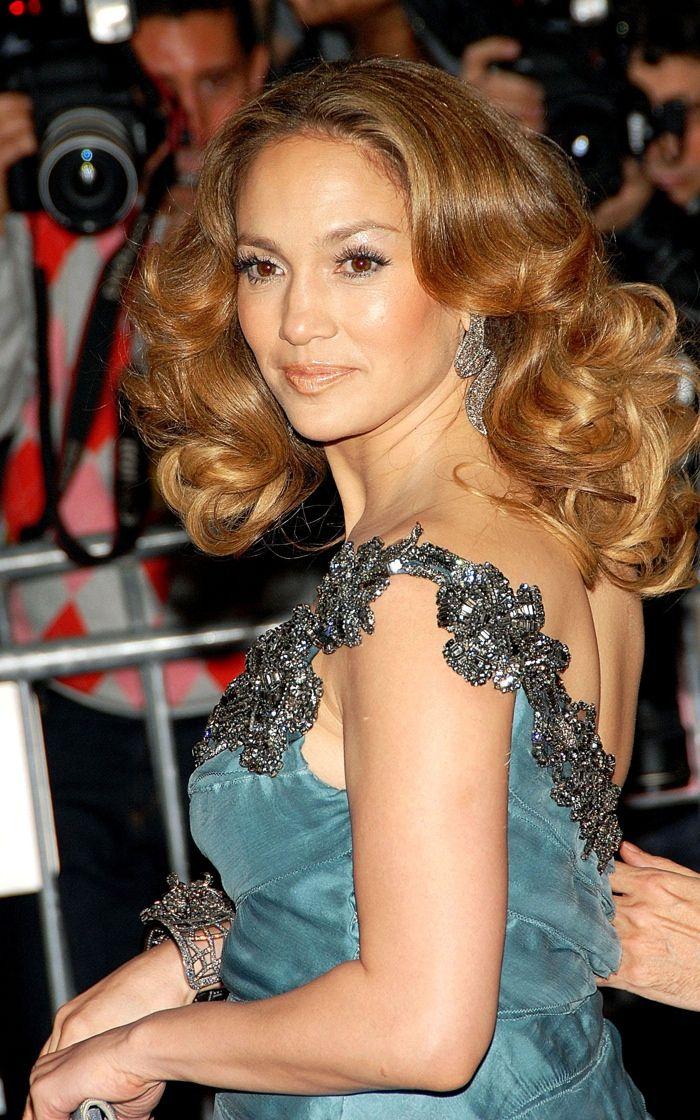 Jennifer lopez dunkle haare