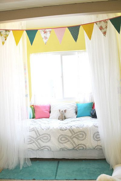 167 best window treatment ideas images on pinterest for Kids bedroom window treatments
