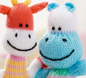 Knitted Hippo Pattern