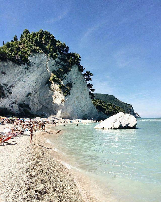 the Friar Beach, Monte Conero, Marche, Italy