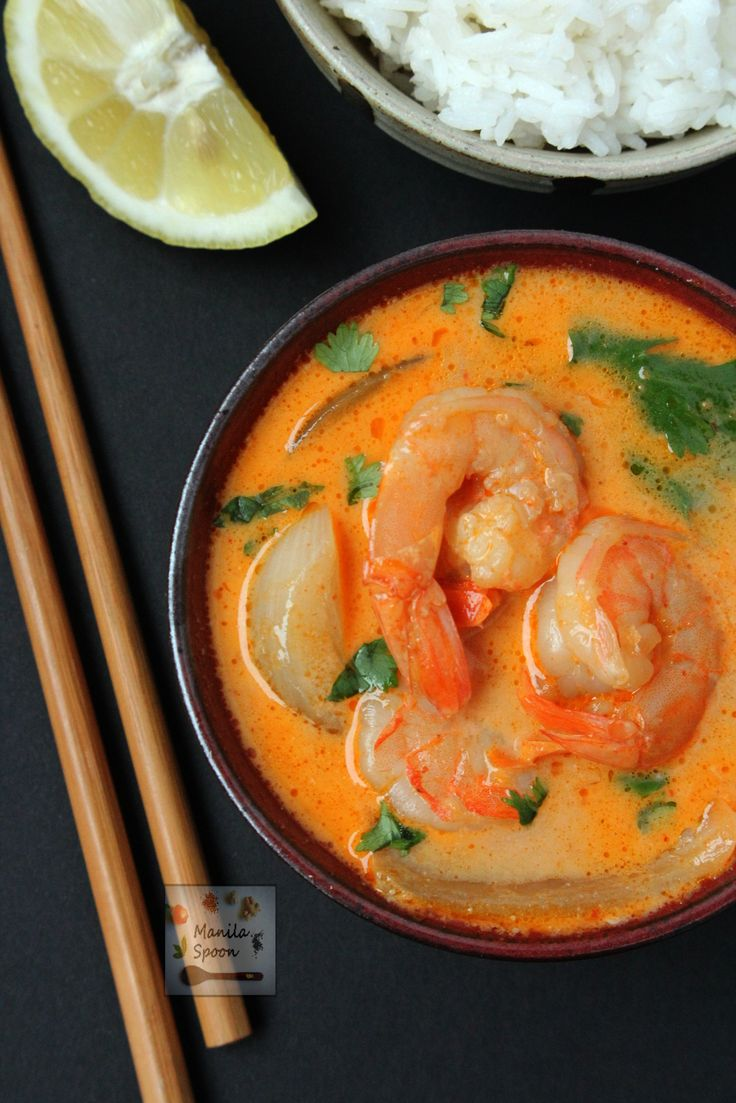 A quick and easy way to make the most delicious Thai Shrimp Curry. Spicy scrumptiousness guaranteed!