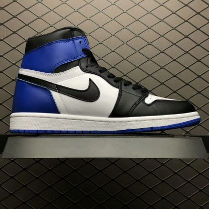 172161ee4741 Air Jordan 1 x Fragment Design White Sport Royal Black 716371-040-2 ...