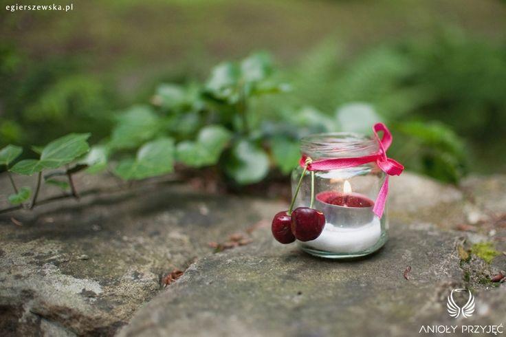 4. Cherry Wedding,Outdoor decoration / Czereśniowe wesele,Dekoracja pleneru,Anioły Przyjęć