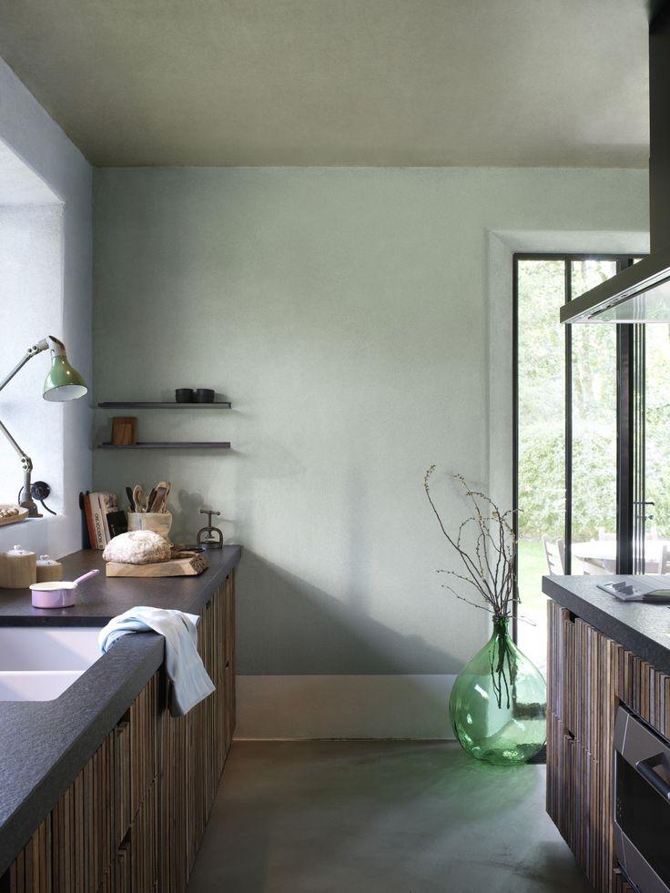Witte Keuken Kleur Muur : Green Glass House Book