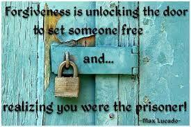 Choose forgiveness! Choose freedom!