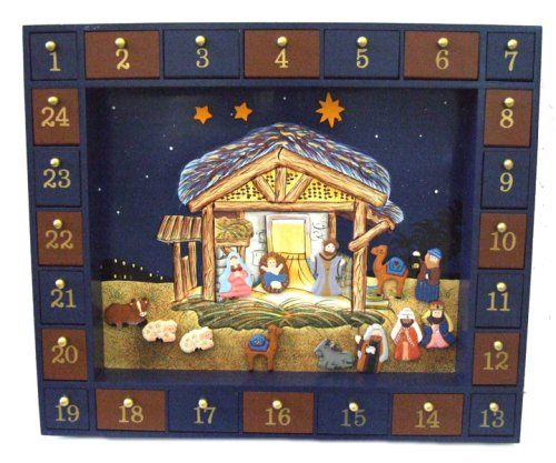 Nativity Advent Calendar:  8 Simple Ways for Kids to Keep Christ in Christmas