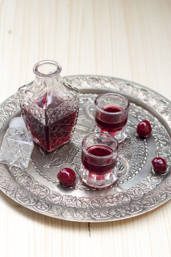 Višnjevača, or sour cherry liqueur is a regular brandy or sherry infused with sour cherries and sugar, & left for 40 days when it becomes a dessert liquor.