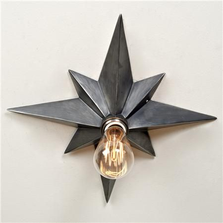 Vintage Star Flush Mount Ceiling Light - I have been dreaming of this since I saw one in a restaurant bathroom in Savannah years ago. Love love love love love. I will have this in my house one day.