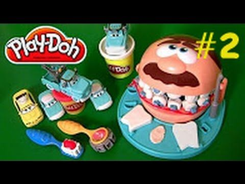 Oyun Hamuru ile Diş Doktoru Oyunu #2 - Play Doh Doctor Drill N Fill