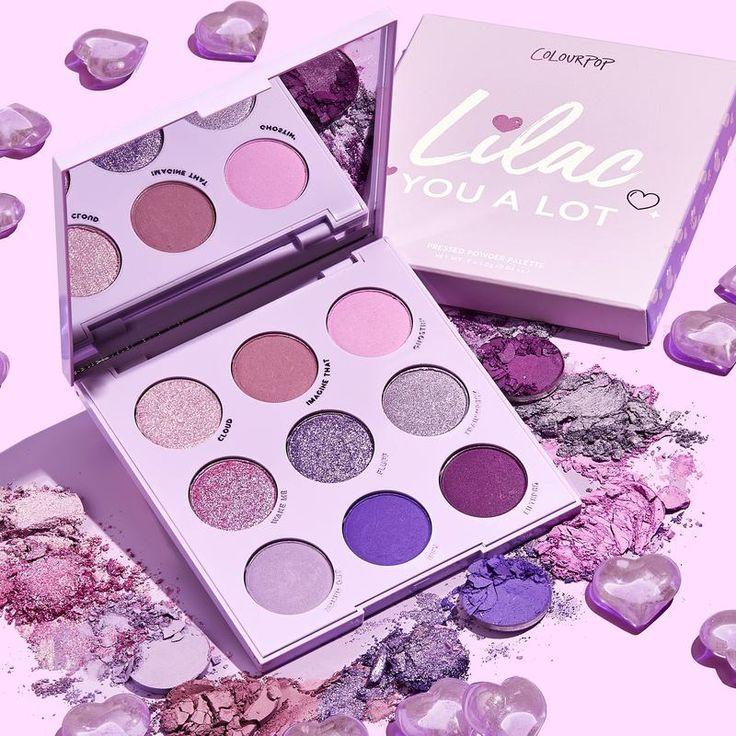 Lilac You A Lot Shadow Palette Colourpop cosmetics