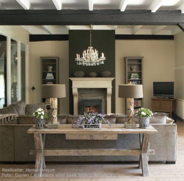 Modern Country Style Belgian Style And Modern Country: 1000+ Images About Cozy Rustic Living Room Design Ideas On
