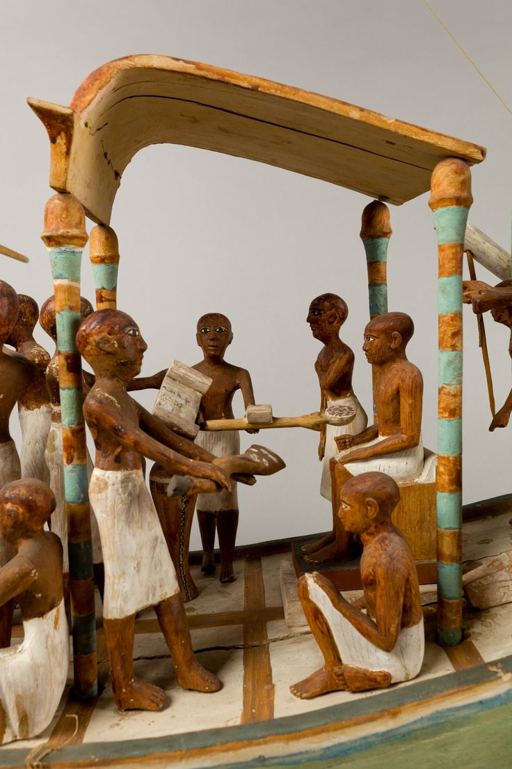 Ancient egyptian furniture - Note The Shape Of The Seated Figure S Head Relative To His Servants Egyptian Artancient