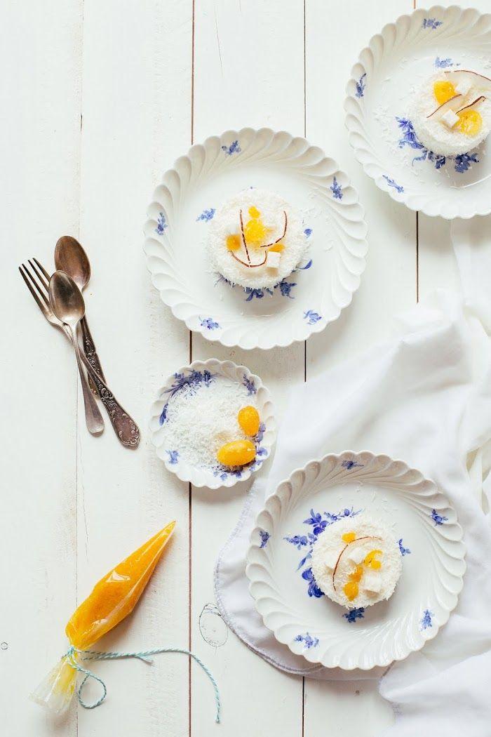 Entremets à la noix de coco & marmelade d'agrumes - Ophelie's kitchen book: IMPROVISER UN WORKSHOP DE STYLISME & PHOTOGRAPHIE CULINAIRE CHEZ SOI