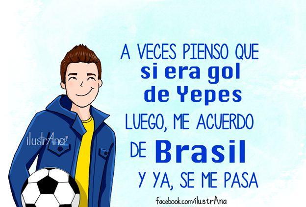 #colombia #selecióncolombiana #goldeYepes #Tepes #Brasil #mundial #futbol #ilustrana