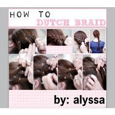 How to Dutch Braid