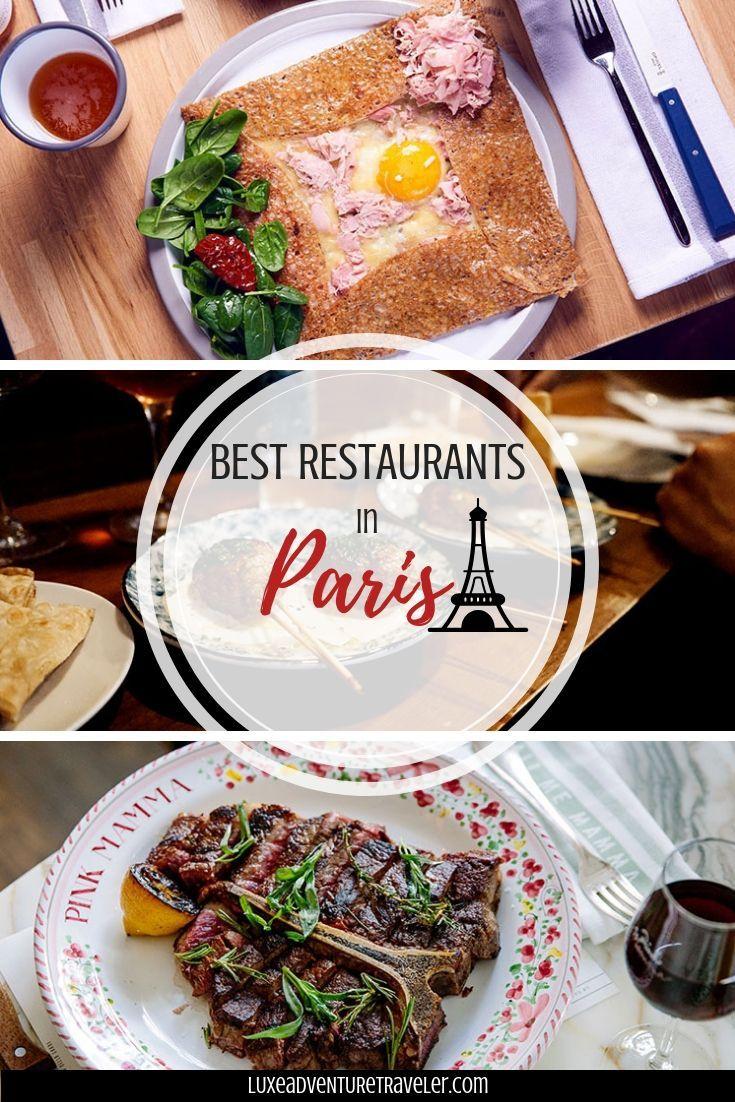 Best Restaurants In Paris
