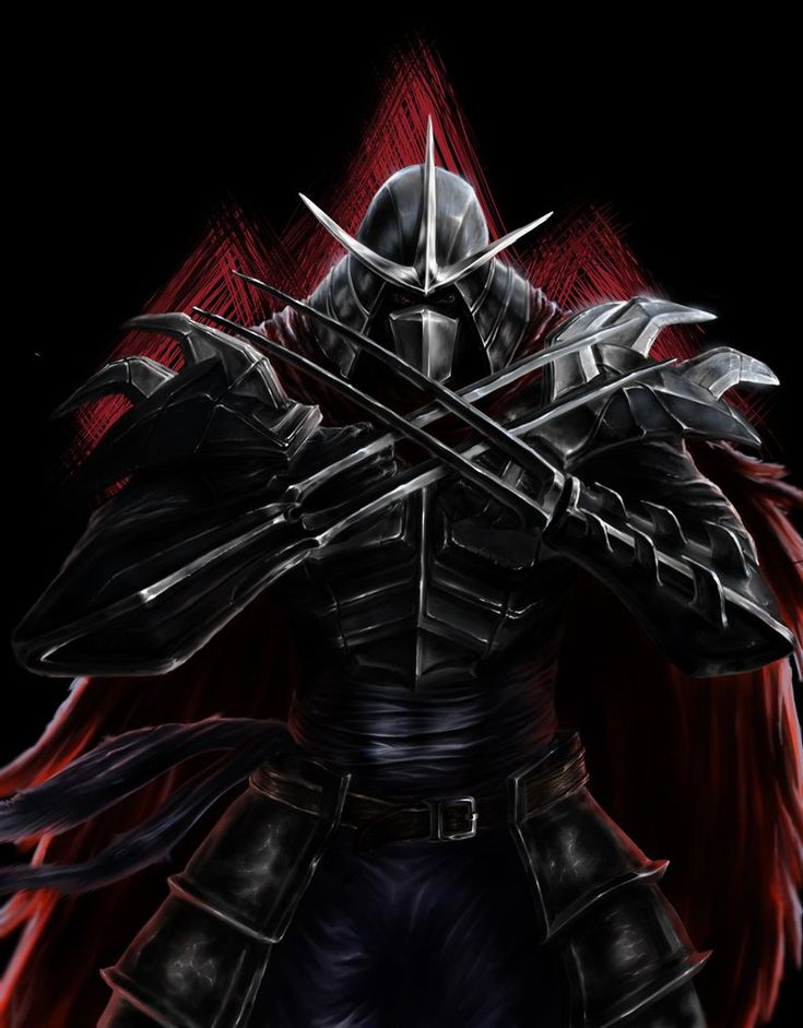 SHREDDER by NakedMazaFaker on DeviantArt