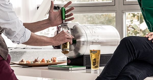 Enjoy the perfect draught beer at home with THE SUB®. Choose from a variety of Heineken draught products. Buy your home draught beer tap today!