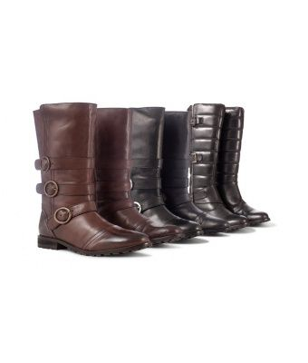 Ladies' Leather Boots in Zip-Off or Twin-Zip Styles for £29.99 With Free Delivery (80% Off) - Earn 8% when you shop or share on haveyouseen.com!