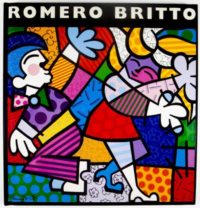 by Romero Britto Born: October 6, 1963 Recife, Pernambuco, Brazil. A Neo-pop artist, painter, serigrapher, and sculptor. He combines elements of cubism, pop art and graffiti painting in his work, using vibrant colors and bold patterns.